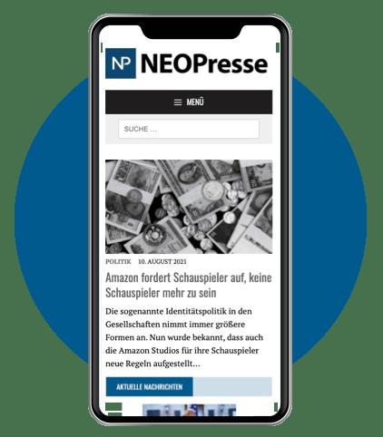 Neopresse Smartphone App
