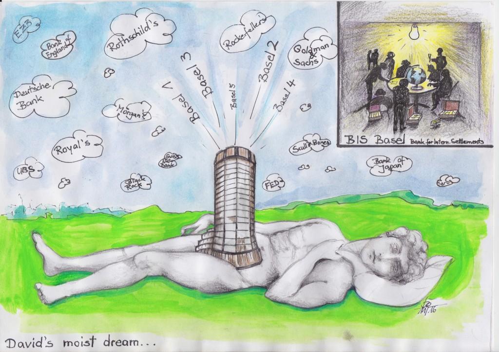 David's moist dream / be / be / Eigenes Werk