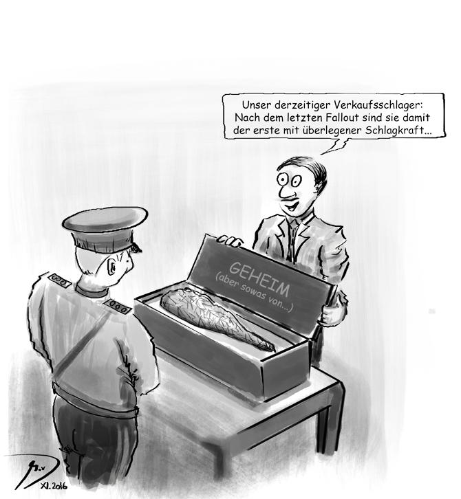 / Marc van Dalen / 04.06.2016 / eigener Cartoon der Woche